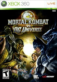 Rent Mortal Kombat vs. DC Universe for Xbox 360
