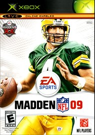 Rent Madden NFL 09 for Xbox