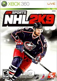 Rent NHL 2K9 for Xbox 360