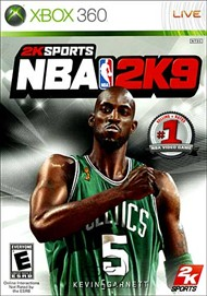 Rent NBA 2K9 for Xbox 360