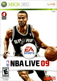 Rent NBA Live 09 for Xbox 360