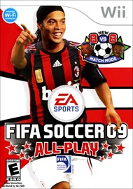 Rent FIFA Soccer 09 All-Play for Wii