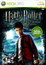 Rent Harry Potter and the Half-Blood Prince for Xbox 360