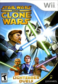 Rent Star Wars The Clone Wars: Lightsaber Duels for Wii