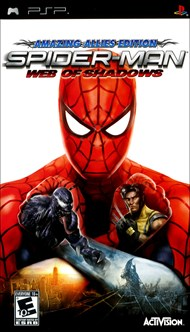 Rent Spider-Man: Web of Shadows for PSP Games