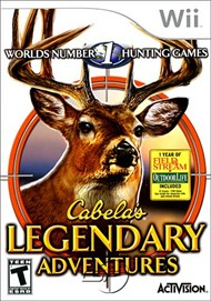 Rent Cabela's Legendary Adventures for Wii