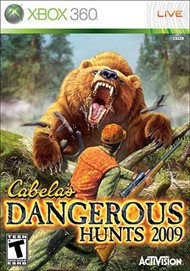 Rent Cabela's Dangerous Hunts 2009 for Xbox 360