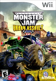 Rent Monster Jam: Urban Assault for Wii
