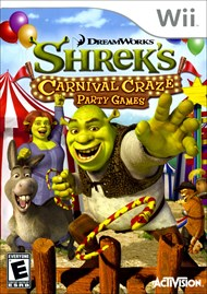 Rent Shrek's Carnival Craze for Wii