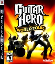 Rent Guitar Hero World Tour for PS3