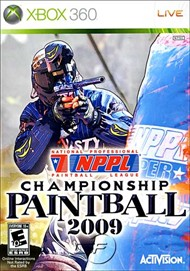 Rent NPPL Championship Paintball 2009 for Xbox 360