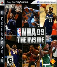 Rent NBA 09 The Inside for PS3