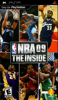 Rent NBA 09 The Inside for PSP Games