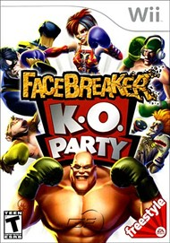 Rent FaceBreaker K.O. Party for Wii