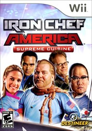 Rent Iron Chef America: Supreme Cuisine for Wii