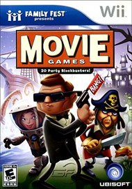 Rent Family Fest Presents: Movie Games for Wii