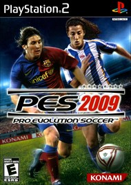Rent Pro Evolution Soccer 2009 for PS2