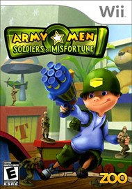 Rent Army Men: Soldiers of Misfortune for Wii