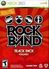 Rent Rock Band Track Pack: Volume 2 for Xbox 360
