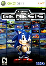 Rent Sonic's Ultimate Genesis Collection for Xbox 360