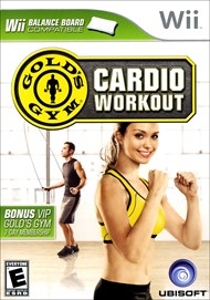Rent Gold's Gym Cardio Workout for Wii