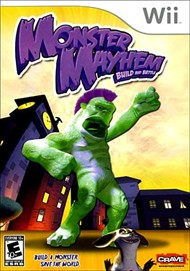 Rent Monster Mayhem: Build & Battle for Wii