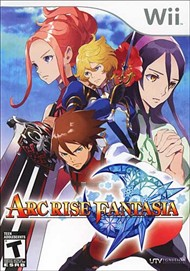 Rent Arc Rise Fantasia for Wii