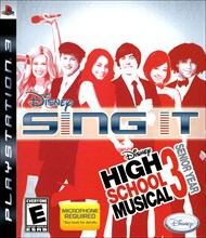 Rent Disney Sing It: High School Musical 3 Senior Year for PS3