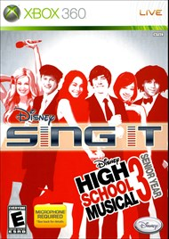 Rent Disney Sing It: High School Musical 3 Senior Year for Xbox 360