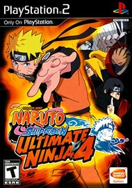 Rent Ultimate Ninja 4: Naruto Shippuden for PS2