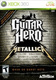 Rent Guitar Hero: Metallica for Xbox 360