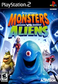Rent Monsters vs. Aliens for PS2