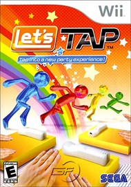 Rent Let's Tap for Wii