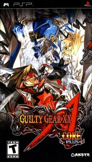 Rent Guilty Gear XX Accent Core Plus for PSP Games