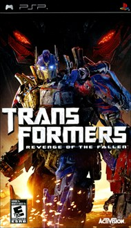 Rent Transformers: Revenge of the Fallen for PSP Games