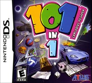 Who wants to change cartridges? Now you don't have to! With 101 games on a single cart, you'll never run out of games to play! This perfect game for the road means you'll have something to do with every spare moment. Pick it up and make full use of the Dual Screen and Stylus. Set high scores in some games and earn gold coins to unlock even more exciting new games. The fun will just grow the more you play. You can even take on your friends in head-to-head matches through local-wireless play. It's a never-ending supply of challenge and fun!
