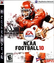 Rent NCAA Football 10 for PS3