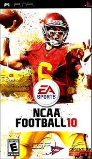 Rent NCAA Football 10 for PSP Games