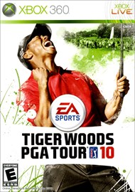 Rent Tiger Woods PGA Tour 10 for Xbox 360