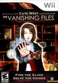 Rent Cate West: The Vanishing Files for Wii