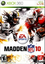 Rent Madden NFL 10 for Xbox 360