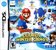 Rent Mario & Sonic at the Olympic Winter Games for DS