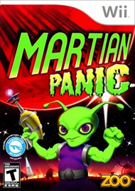 Rent Martian Panic for Wii