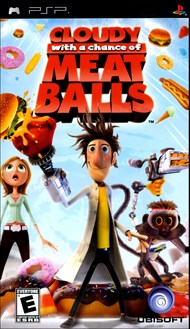 Buy Cloudy with a Chance of Meatballs for PSP Games