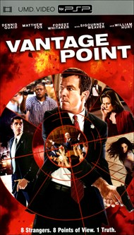 Rent Vantage Point for PSP Movies