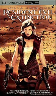 Rent Resident Evil: Extinction for PSP Movies