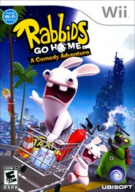 Rent Rabbids Go Home for Wii