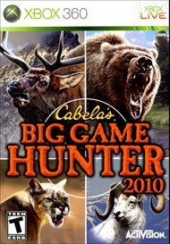 Rent Cabela's Big Game Hunter 2010 for Xbox 360