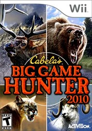 Rent Cabela's Big Game Hunter 2010 for Wii