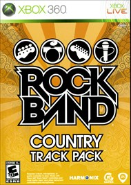 Rent Rock Band Country Track Pack for Xbox 360